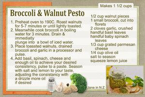 June Recipe Swap_Broccoli & Walnut Pesto