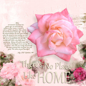 Watercolor Roses - Tuesday Challenge 7/6