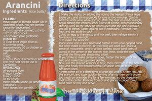 Arancini Recipe