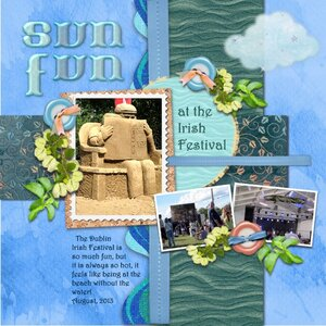 Sun Fun at the Irish Festival
