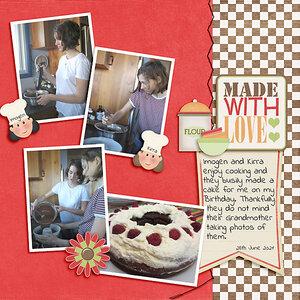 MOC July#2 -  My Birthday Cake
